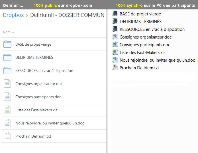 DeliriumII : Jouez, participez, organisez, délirez ! [Fast-making multi-maker/commu] Commun